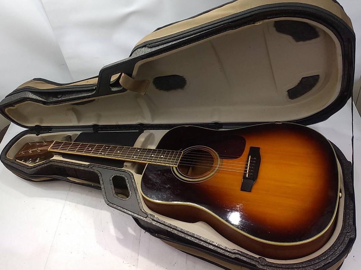 「MORRIS アコースティックギター (ケース付き)を買い取りました」の写真